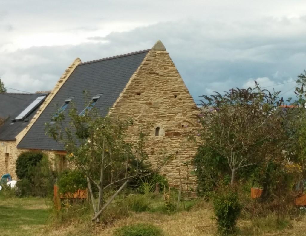 Vue d'une partie du hameau de Kerségas.