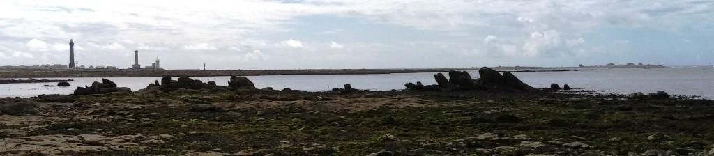 Les rochers du Felok à marée basse (fort coefficient)
