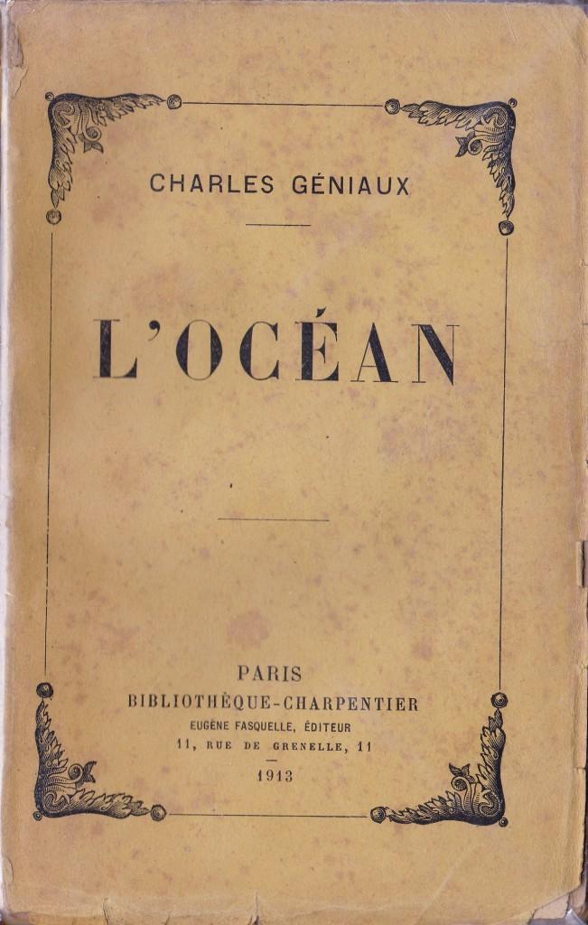 L'océan de Charles Géniaux.