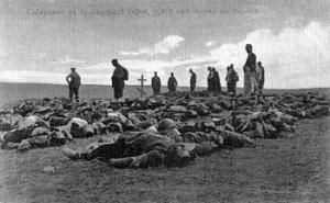 Guerre des Balkans : soldats Bulgares victimes des combats du mois de juillet.