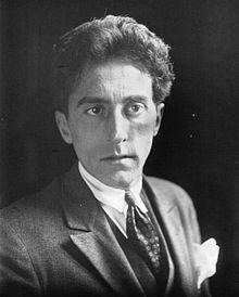 Jean Cocteau en 1923, photographie de l'Agence Meurisse