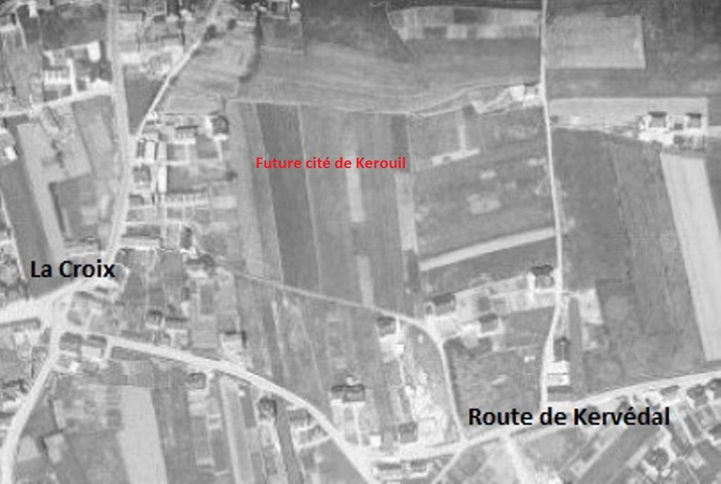 Photographie aérienne IGN (1960)