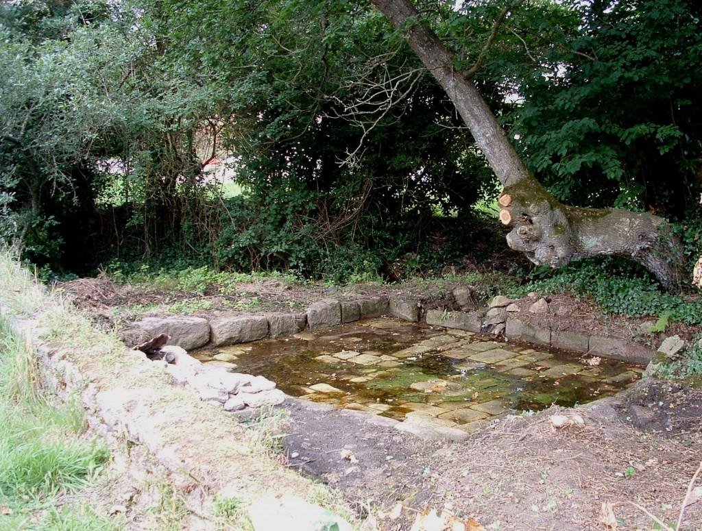La fontaine lavoir de Kerc'hom