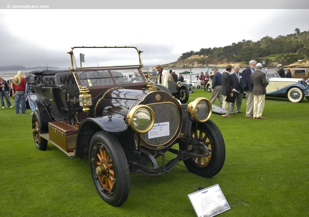 Automobile Niclausse Type D de 1908. Copyright Conceptcarz.com