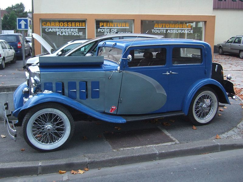 Salmson S4C de 1932, photo de Oxan Hartog