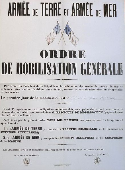 Ordre de mobilisation générale