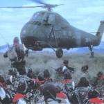 Hélicoptère Sikorski de l'Armée française.