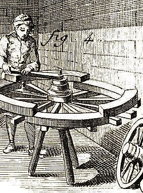 Le charron, illustration extraite de l'Encyclopédie de Diderot et d'Alembert
