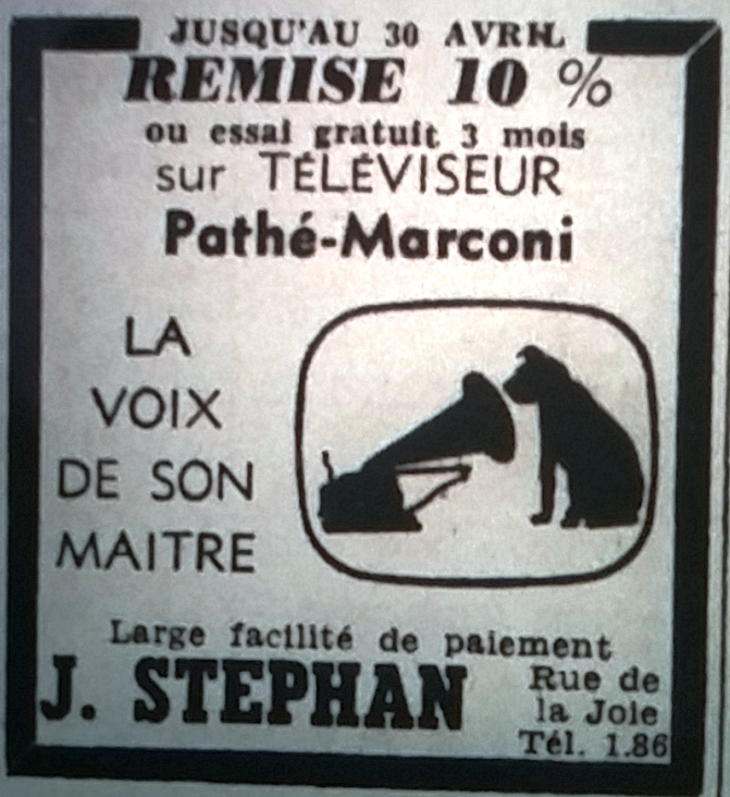 Stéphan, Jacques, Tél 1965 04