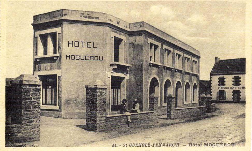 Hôtel Moguérou, carte postale Artaud n°44
