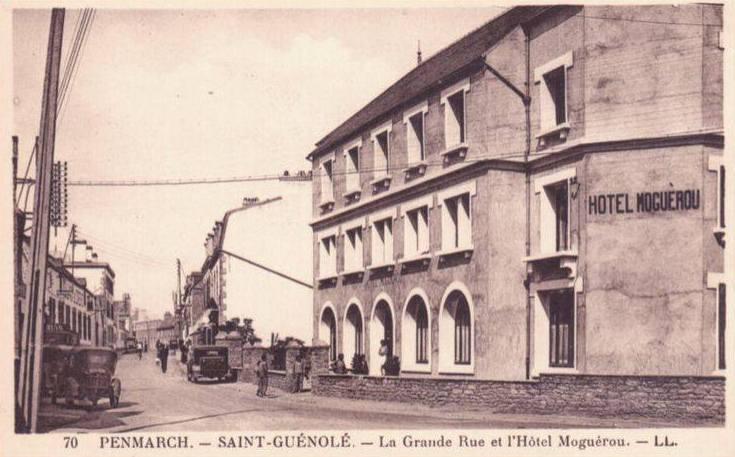 Hôtel Moguérou, carte postale Lévy n°70