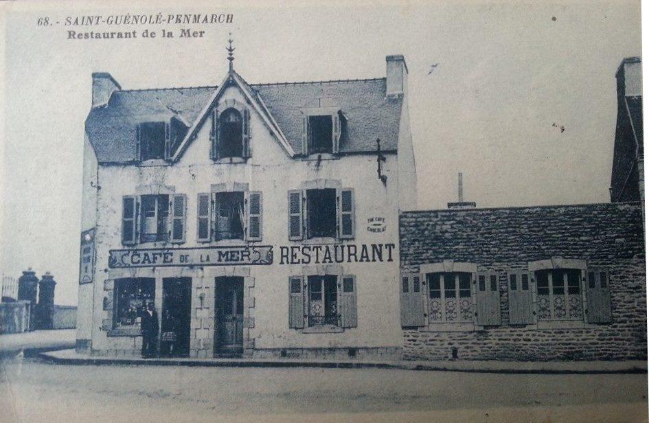 Café de la mer restaurant, carte postale n°68, éditeur inconnu