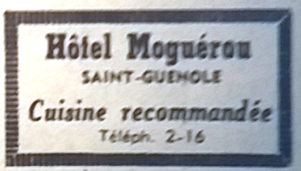 Moguérou, tél 1965 08