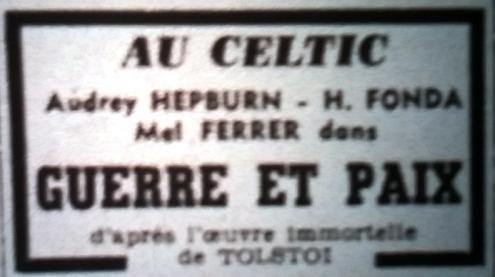Celtic, Tél 1965 06