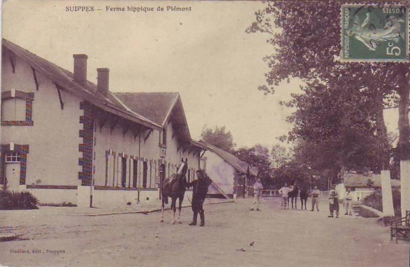 Ferme de Piemont à Suippes.