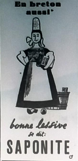 Pub Saponite, Télégramme 1946