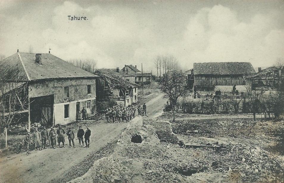 Tahure, carte postale allemande