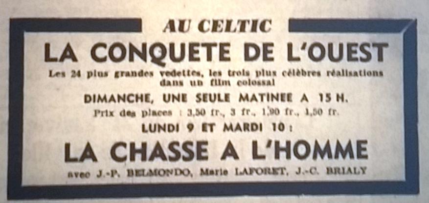 Celtic, Tél 1965 08