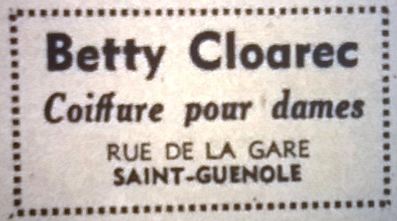 Cloarec, Tél 1965 08