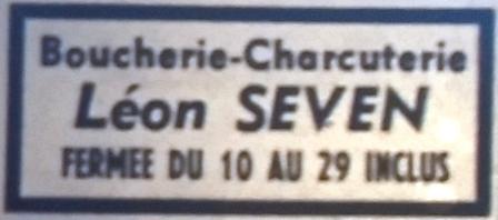 Séven, Léon, Tél 1965 09