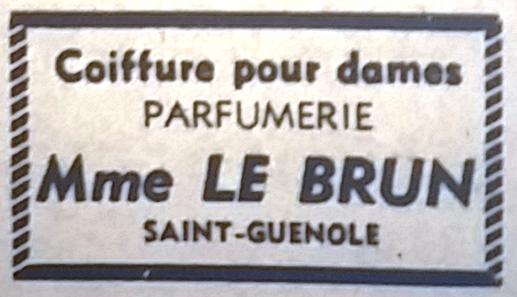 Le Brun, Tél 1965