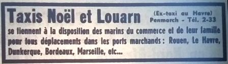 Noël et Louarn, tél 1965 12