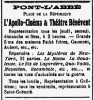 Le Finistère, Juin 1916