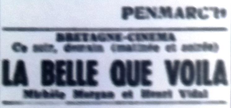 Bretagne ciné, Tél 1950 11 25