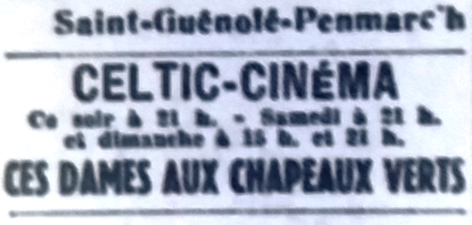 Celtic, Tél 1950 07 21