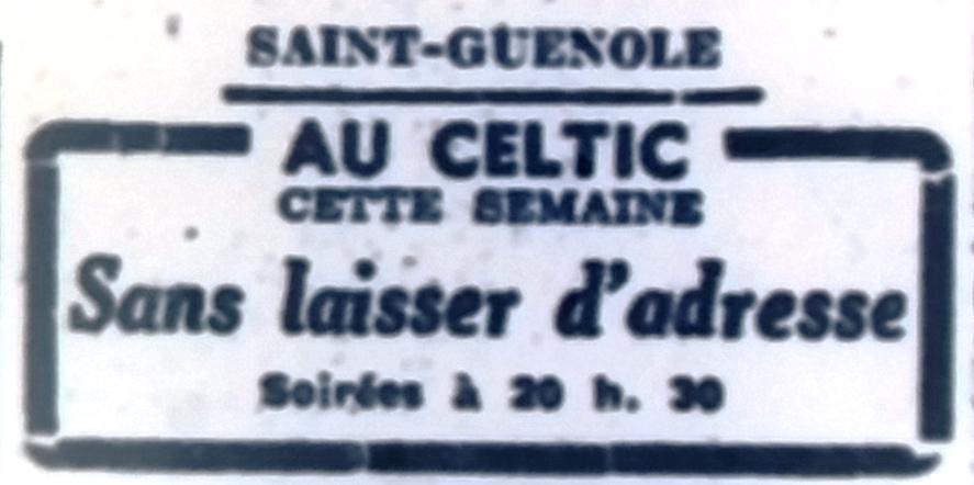 Celtic, OF 1951 12 07