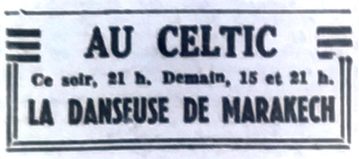 Celtic, Tél 1951 08 14