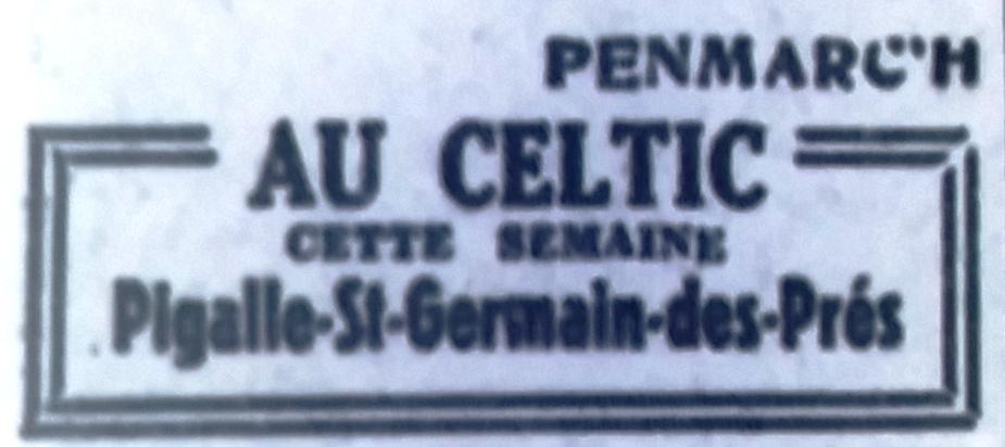 Celtic, Tél 1951 10 06