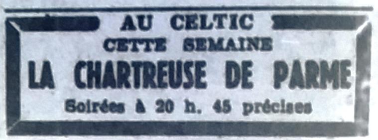 Celtic, Tél 1951 10 13