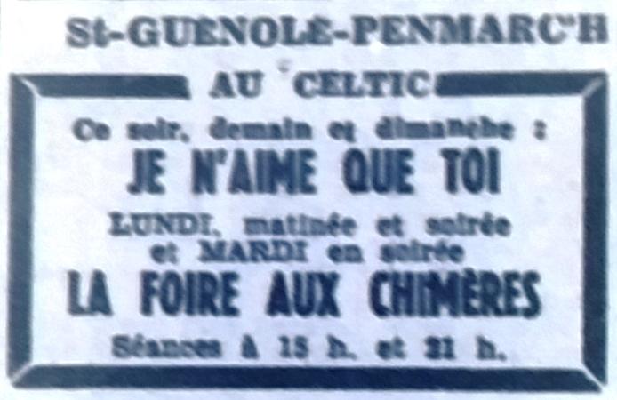 Celtic, Tél 1952 04 11