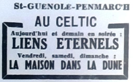Celtic, Tél 1952 07 30