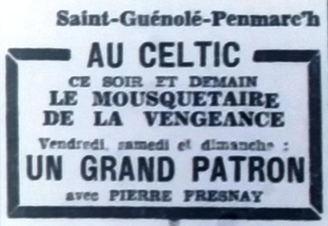 Celtic, Tél 1952 08 20