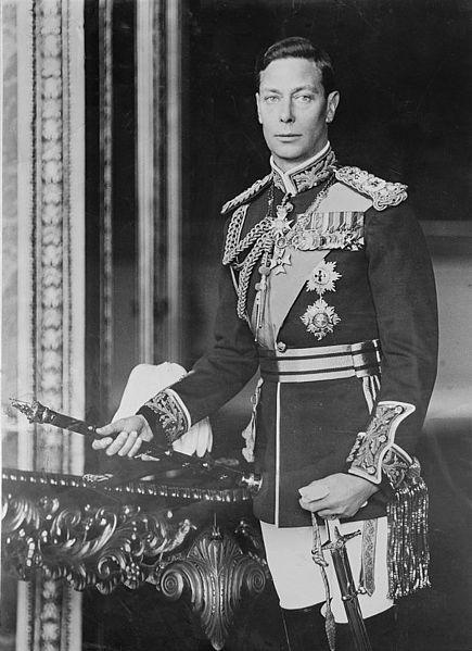 George VI, ph Bertram Park, Library of Congress Washington