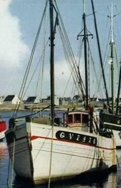 cp Le Doaré 4375, avant 1965 (extrait)