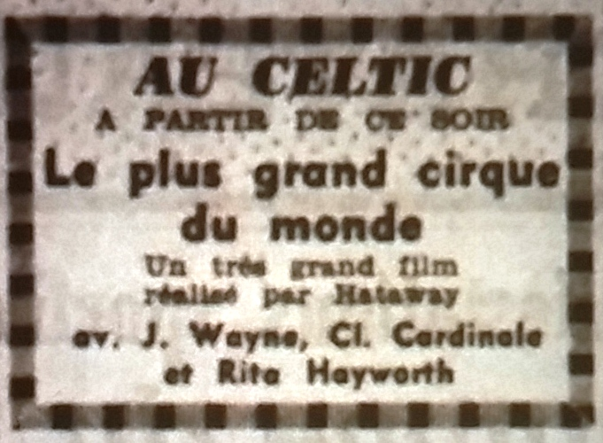 Celtic, Tél 1966 07 19