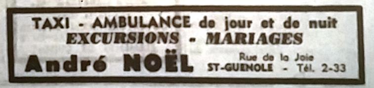 Noël,Tél 1966 08 14