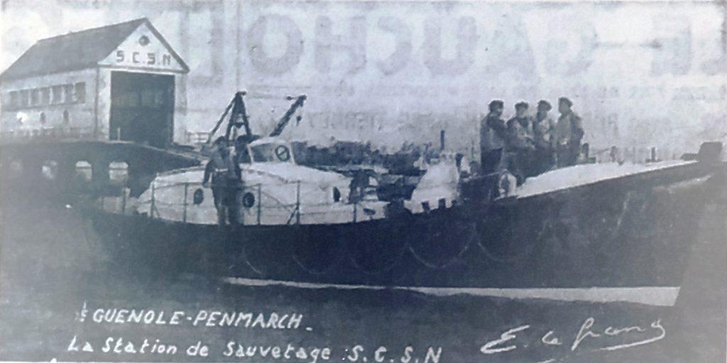 Bateau de sauvetage, Tél 1953 06 11, a