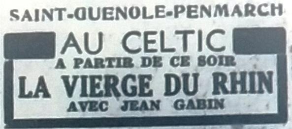 Celtic, Tél 1954 04 09