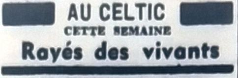 Celtic, Tél 1954 05 14