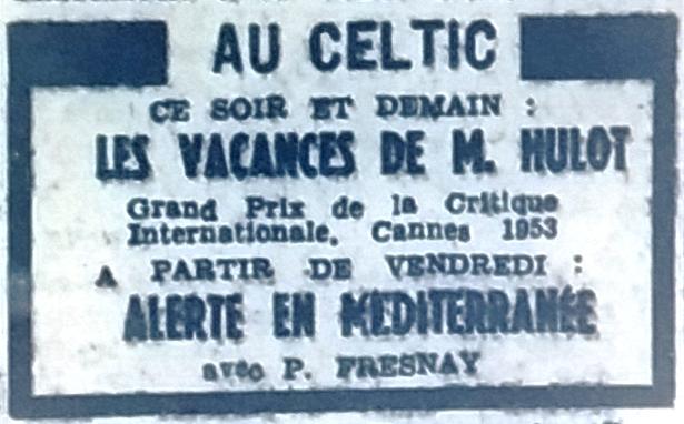 Celtic, Tél 1954 07 21